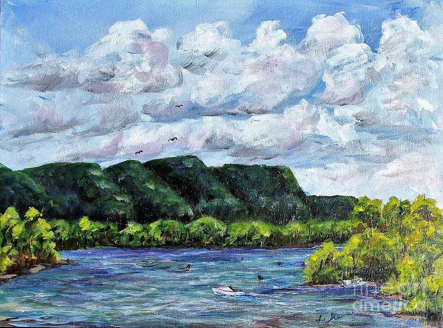 Day on the River by Linda Steine