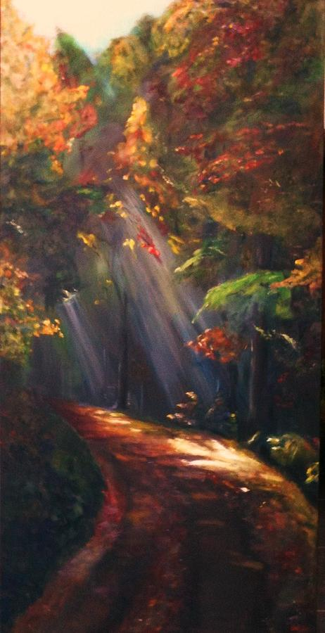 Oil On Canvas Painting - Daybreak by Dana Redfern