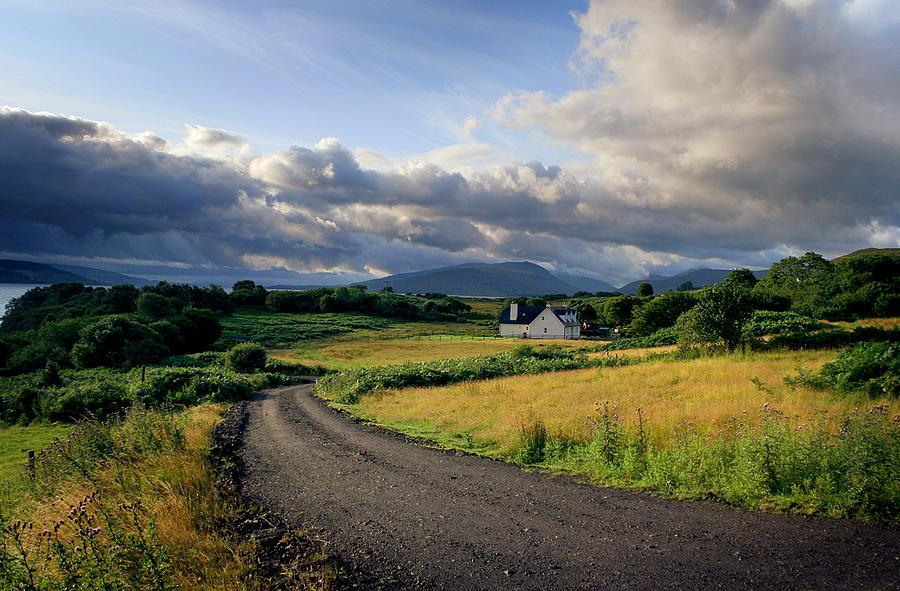 Scotland Photograph - Daybreak by Warren Home Decor