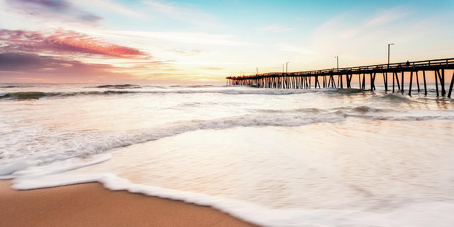 Virginia Beach Photograph - Daybreak by Lisa McStamp