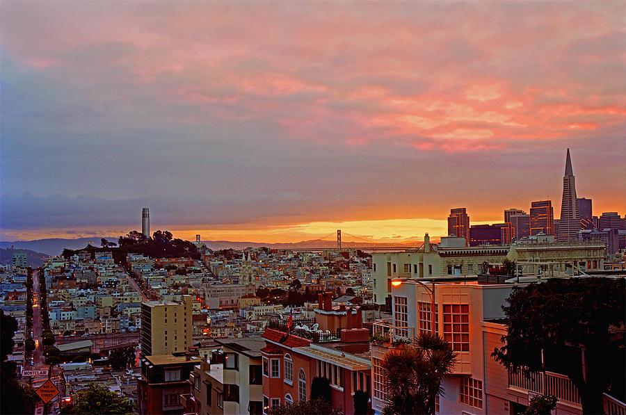 San Francisco Photograph - Daybreak Over San Francisco by James Rasmusson