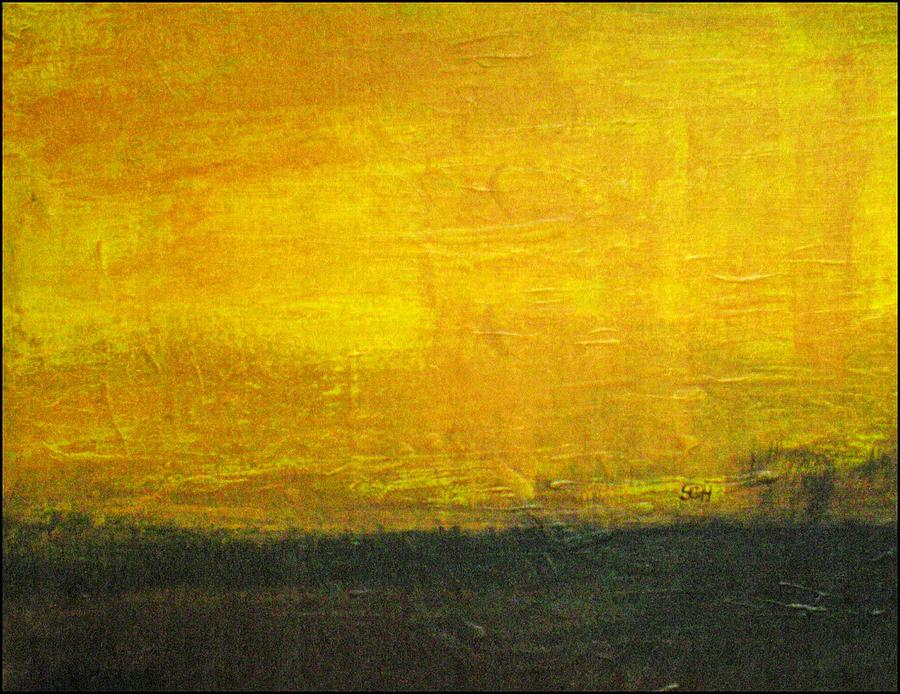Abstract Mixed Media - Daybreak by Scott Haley