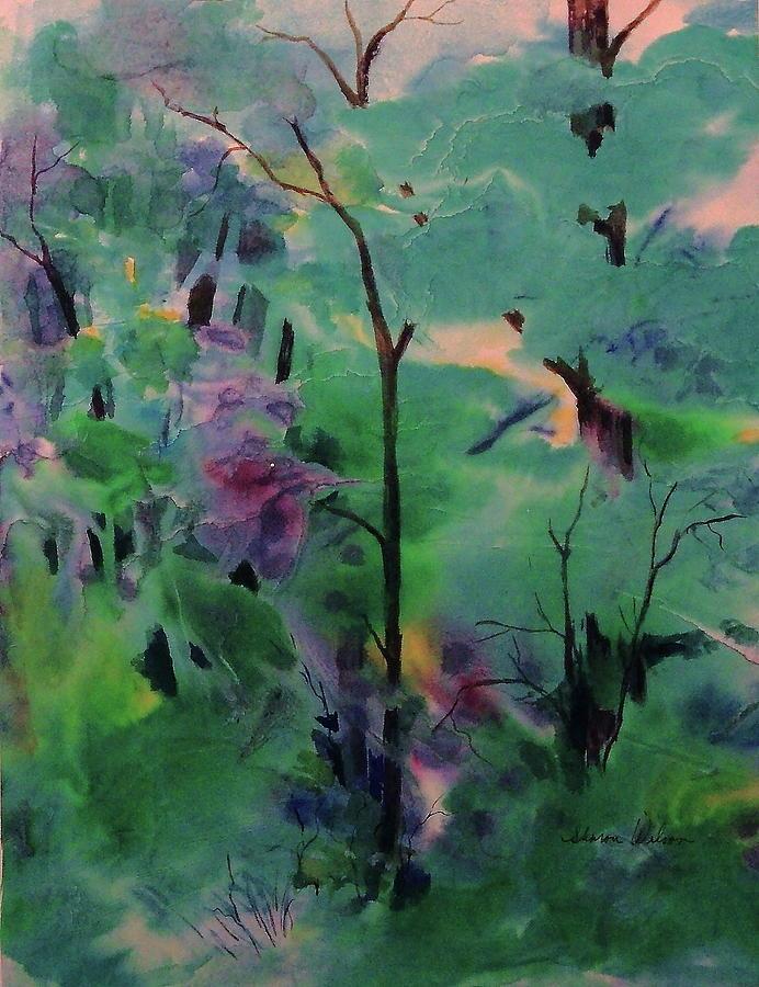 Landscape Painting - Daybreak by Sharon K Wilson
