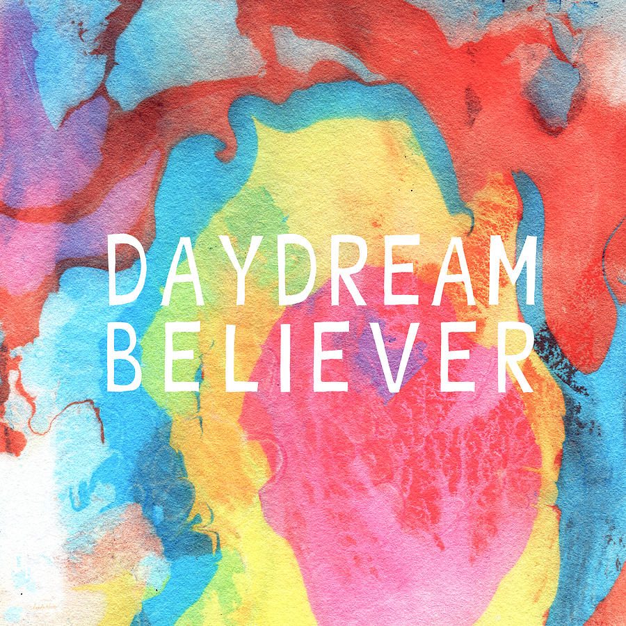 Daydream Believer- Abstract Art By Linda Woods Painting