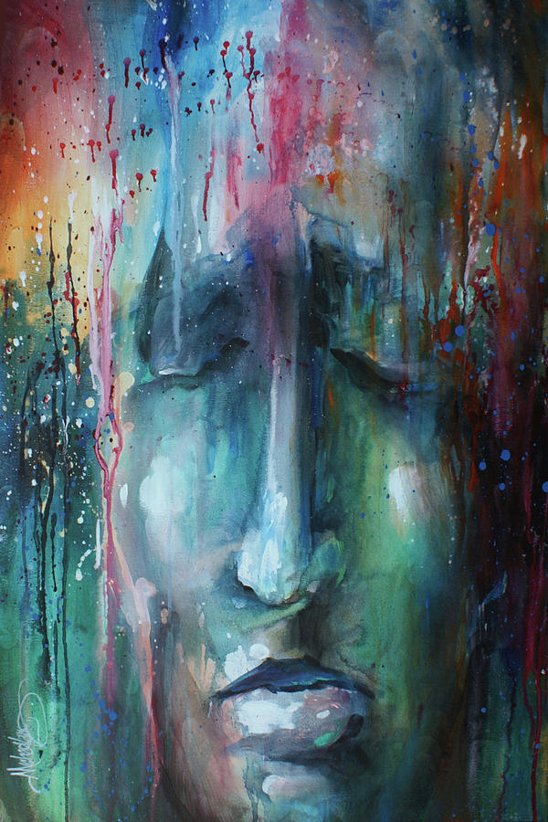 Urban Expression Painting -  Daydream by Michael Lang