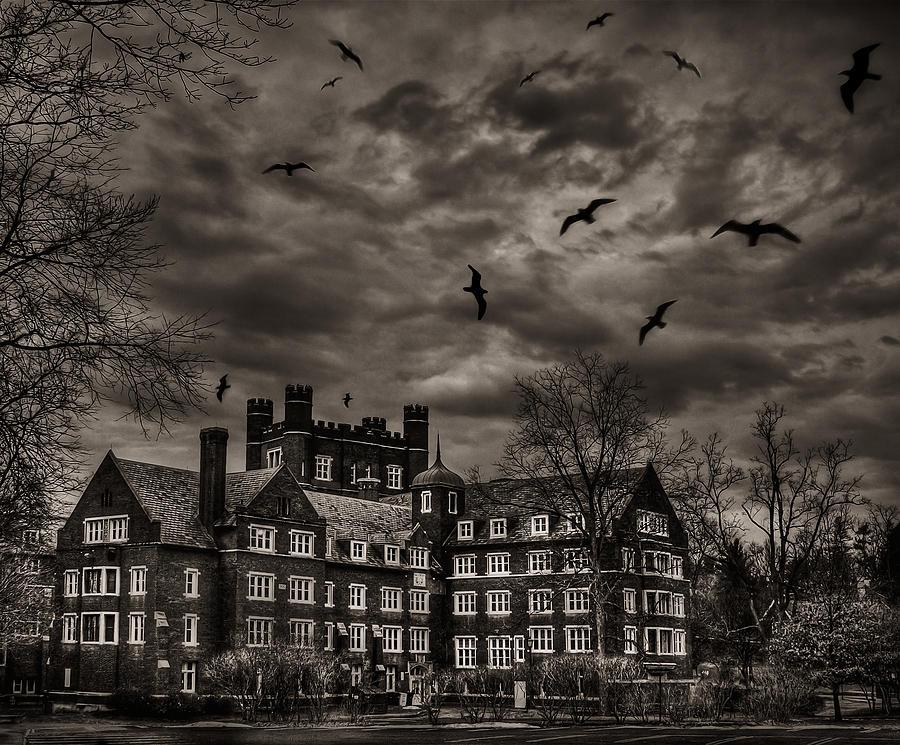 Dark Photograph - Daydreams Darken Into Nightmares by Evelina Kremsdorf