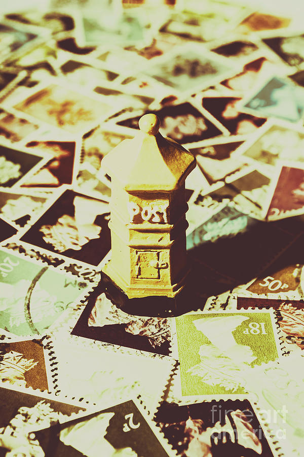 Mailbox Photograph - Days From The Vintage Post Office by Jorgo Photography - Wall Art Gallery
