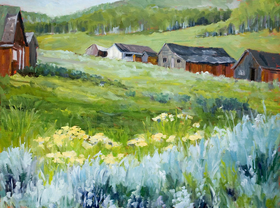 Days Gone By Painting By Kit Hevron Mahoney