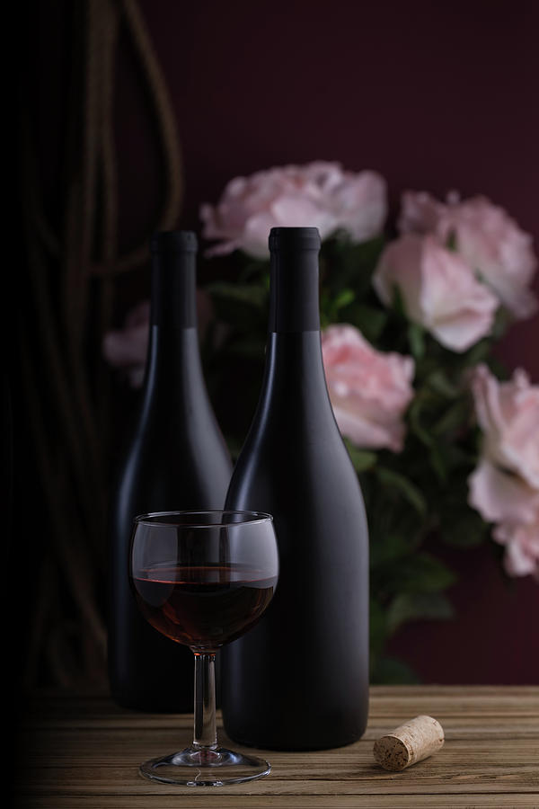 Alcohol Photograph - Days Of Wine And Roses by Tom Mc Nemar