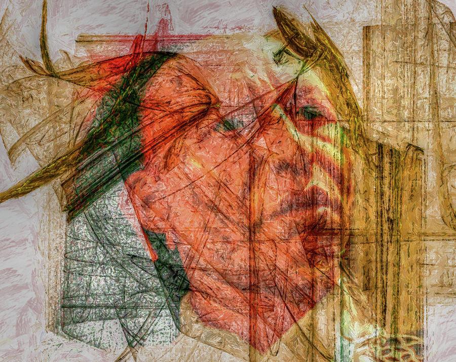 Frontier Digital Art - Days Past by Randy Steele