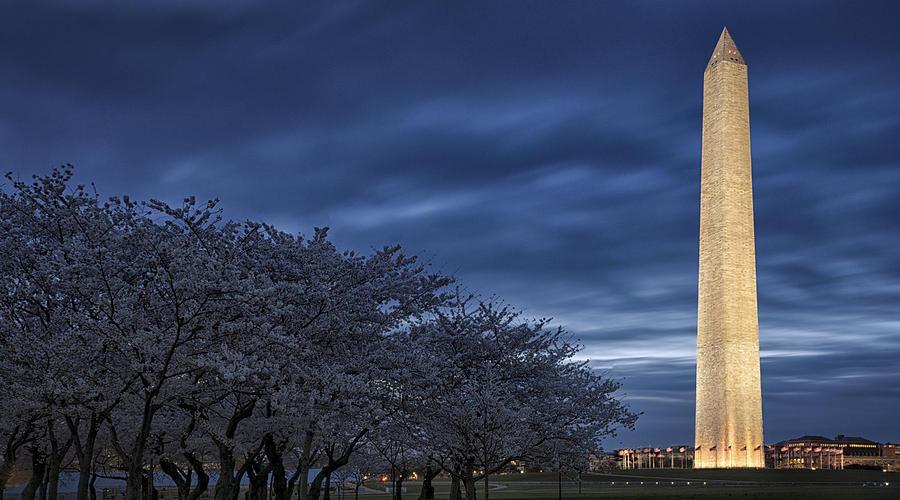 Washington Dc Photograph - D C Blue by Robert Fawcett
