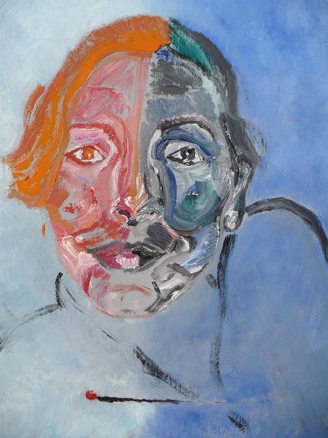 Enlightment Painting - De Jour Et De Nuit. by Coco de la garrigue
