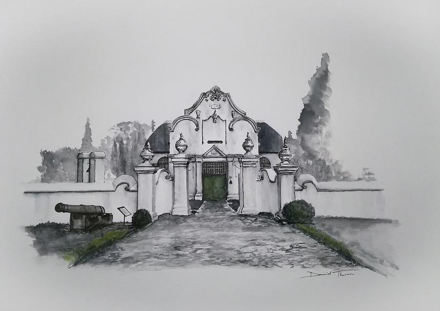 De Oude Kerk Volksmuseum by Dawid Theron