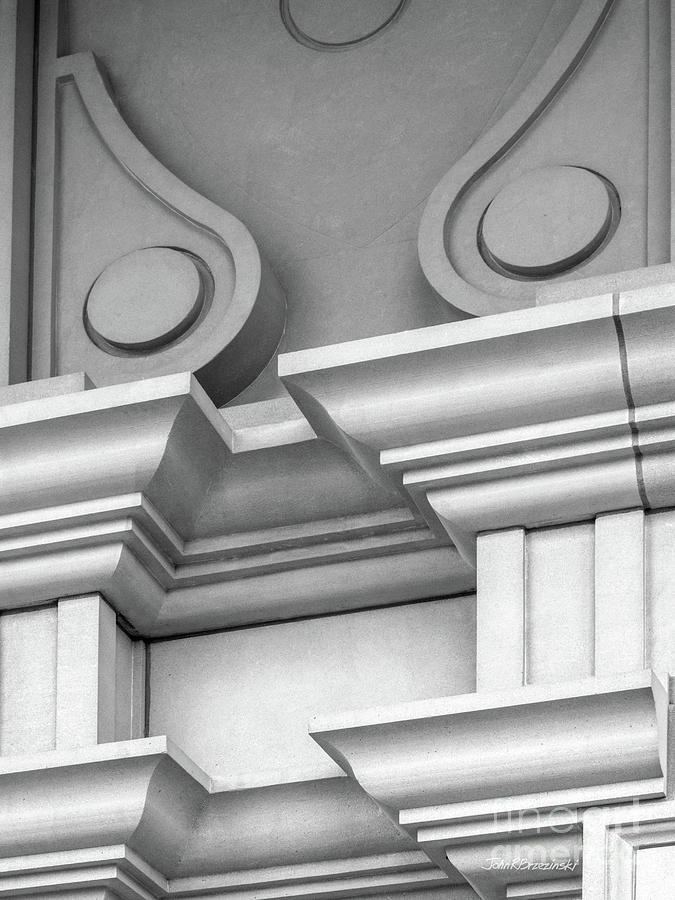 Depauw University Photograph - De Pauw University Detail by University Icons
