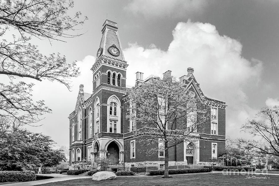 Depauw University Photograph - De Pauw University East College by University Icons