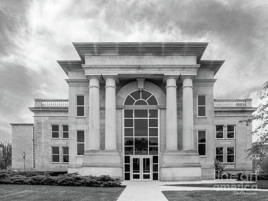 Depauw University Photograph - De Pauw University Emison Building by University Icons
