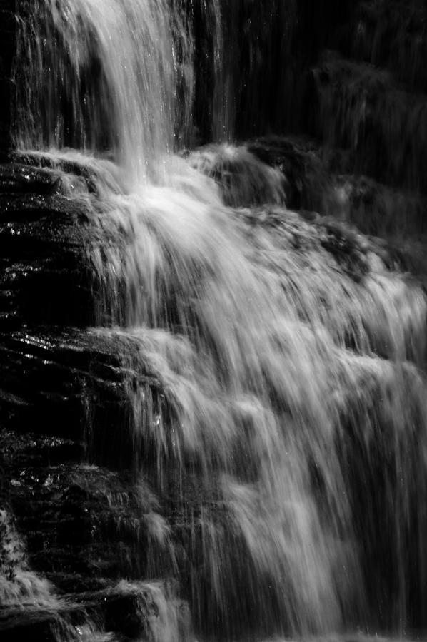 Waterfall Photograph - De Soto Falls 2 by Jeff Montgomery