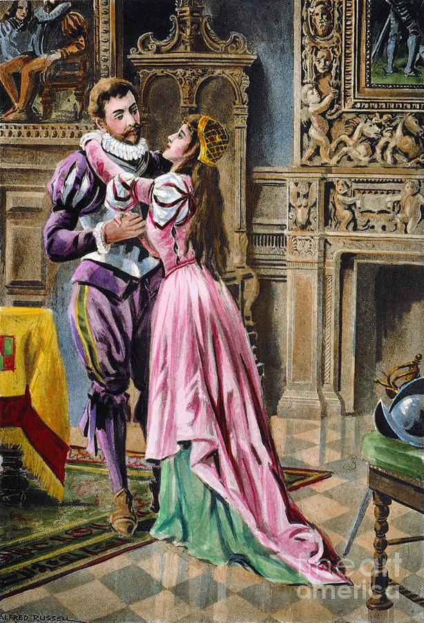 1539 Photograph - De Soto & Isabella, 1539 by Granger