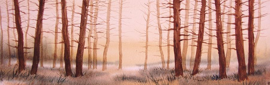 Landscape Painting - Dead Forest by Kevin Heaney