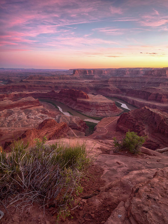Dead Horse Point State Park Photograph - Dead Horse Pastels by Rob Wilson