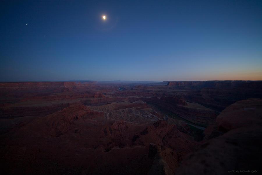 United States Photograph - Dead Horse Point by Luigi Barbano BARBANO LLC
