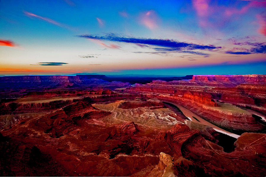Dead Horse Point Photograph - Dead Horse Point by Norman Hall