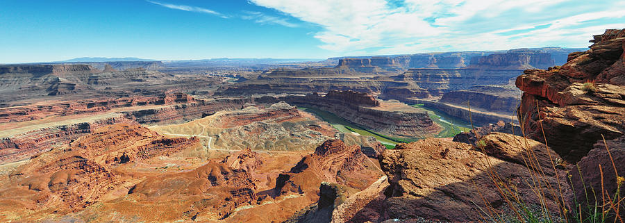 Dead Horse Point Panorama - Dead Horse Point State Park - Utah Photograph