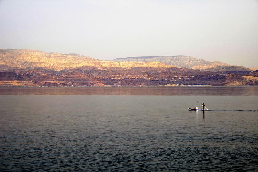 Cohen Photograph - Dead Sea Sojourn by Deb Cohen