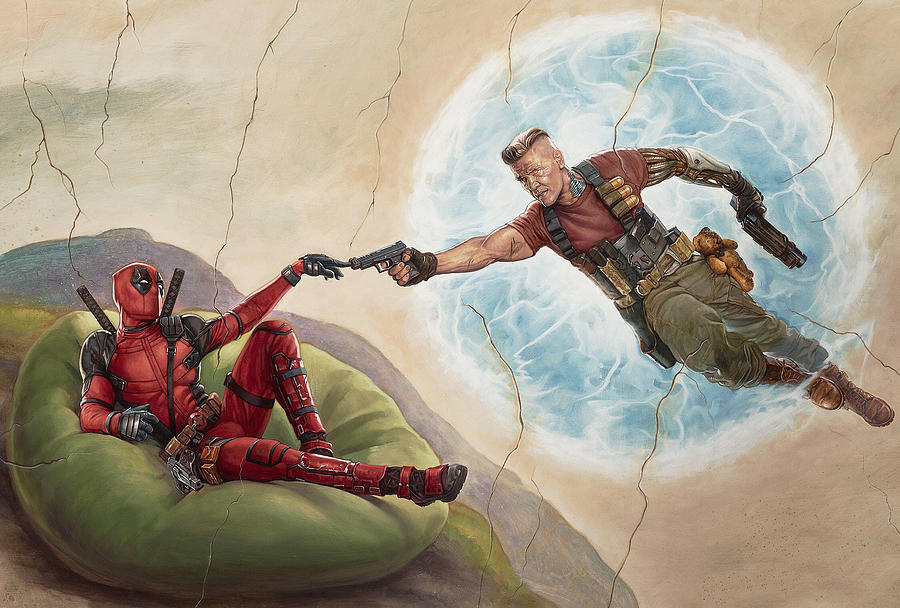 Deadpool 2 Digital Art - Deadpool 2 by Super Lovely