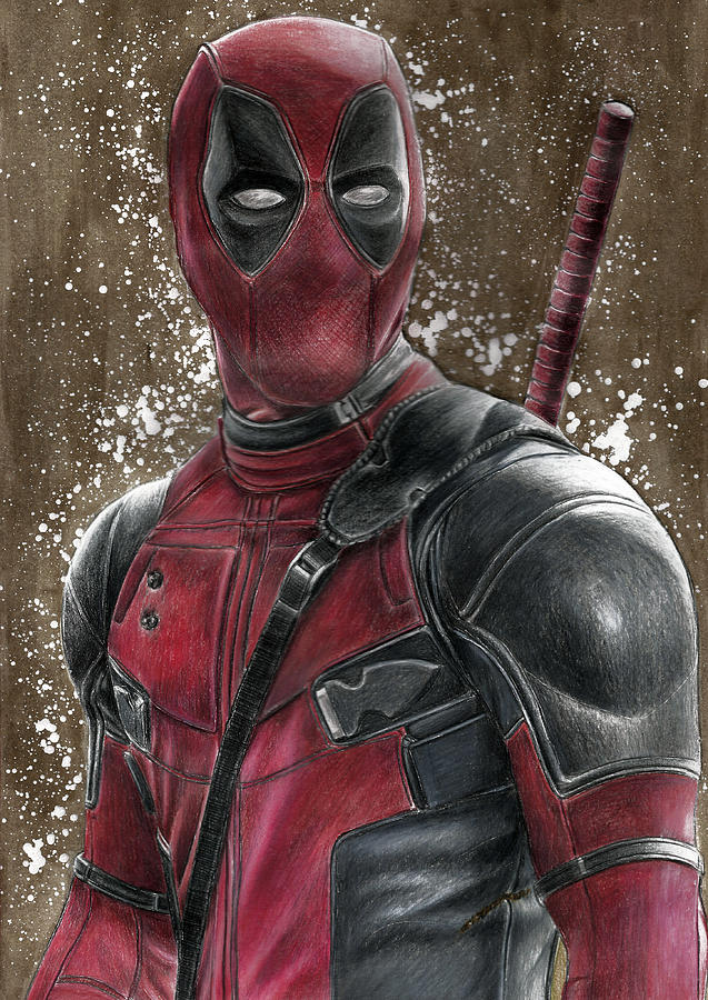 Deadpool Drawing by Svetlana DrobakhinaDeadpool Sketch