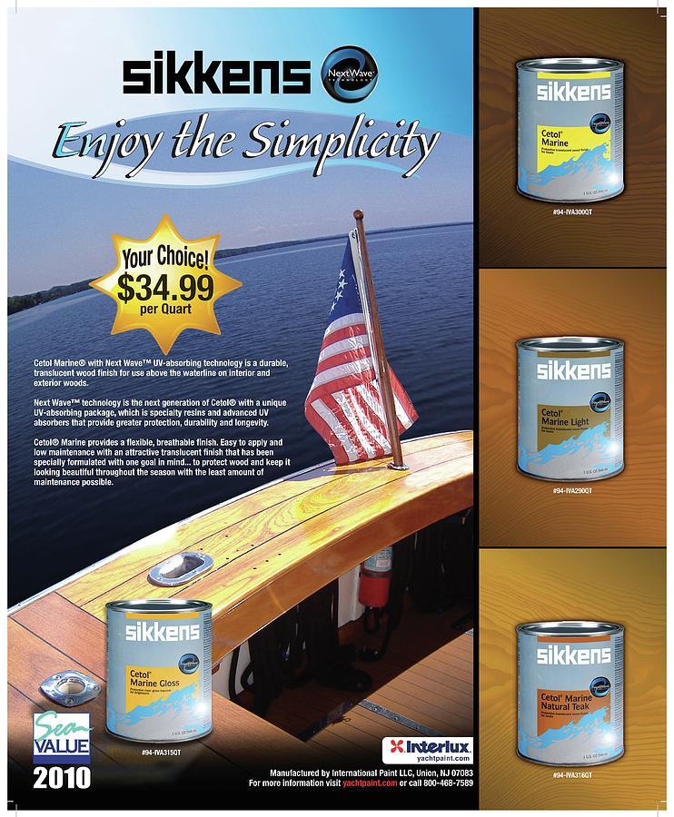 Dealer Vendor Poster - Sikkens Digital Art by Ron Wertz