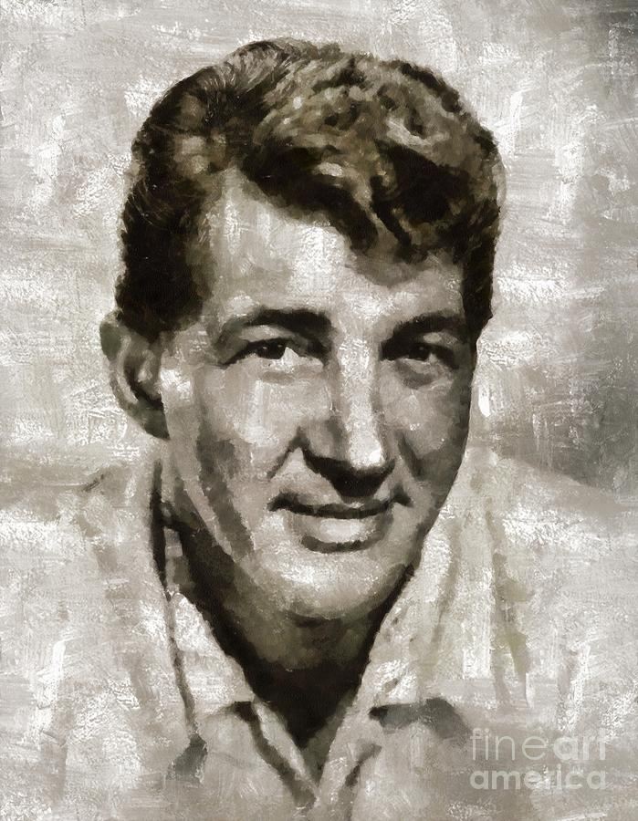 Dean Martin By Mary Bassett Painting