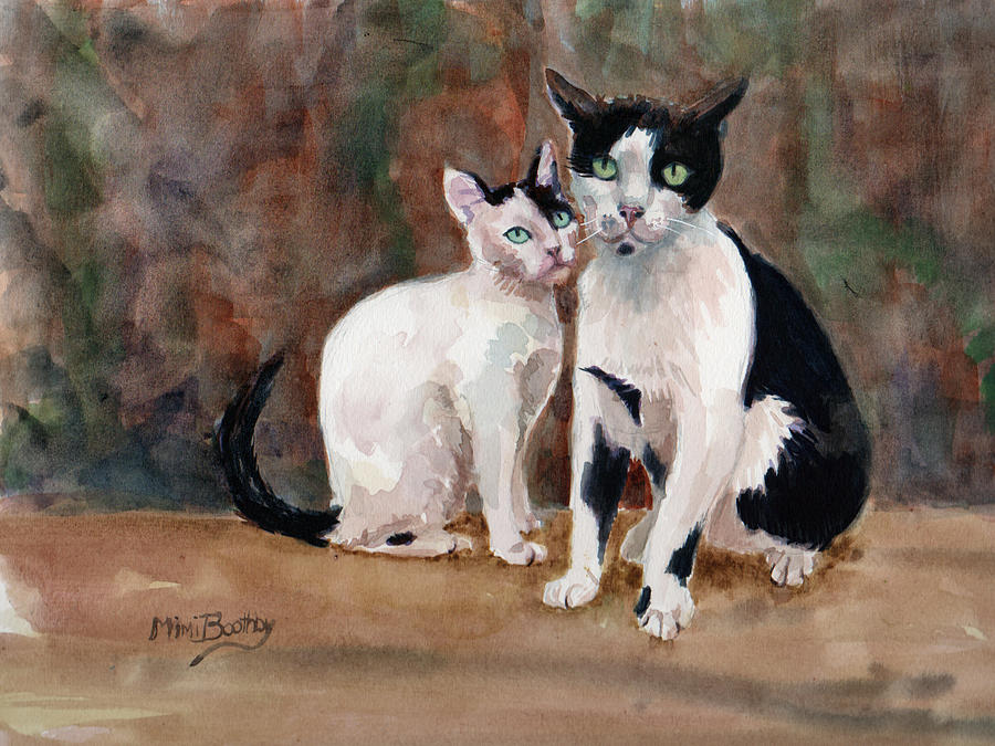 Deano and Sparky by Mimi Boothby
