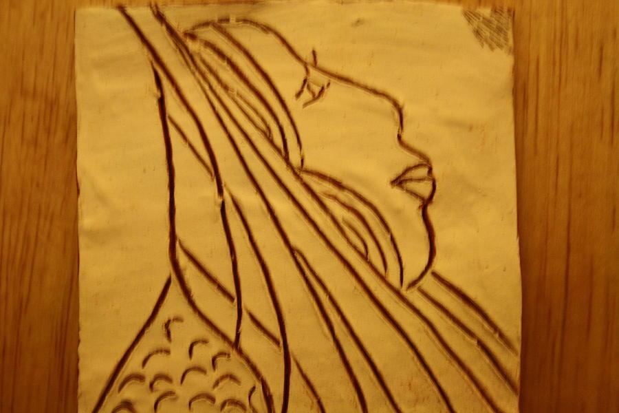 Jesus Ceramic Art - Dear - Tile by Gloria Ssali