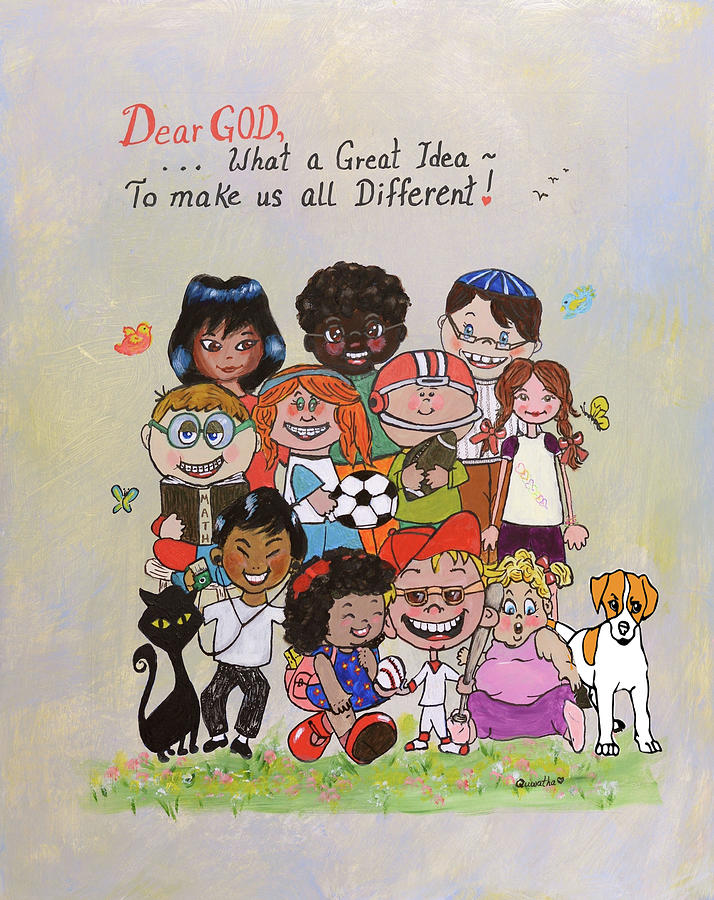Dear God, What a Great Idea by Quwatha Valentine