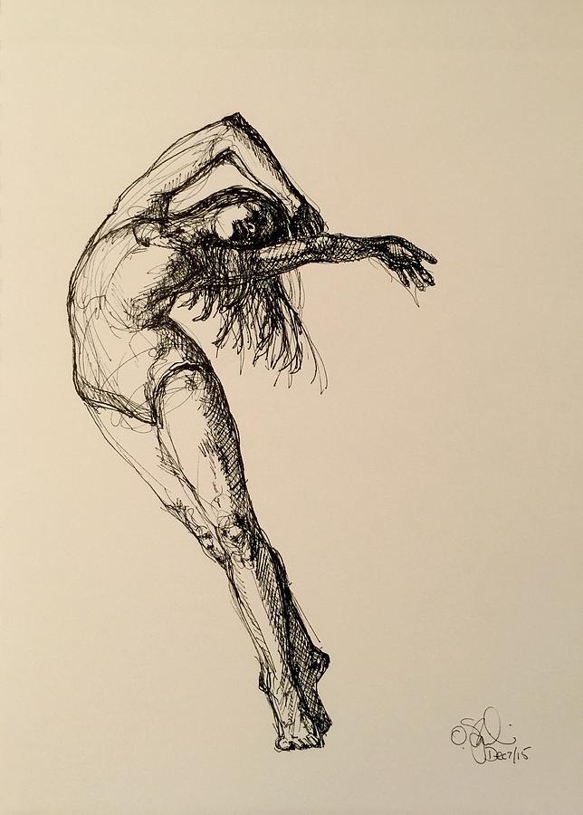 Dear Goya Drawing By Olga Szkabarnicki