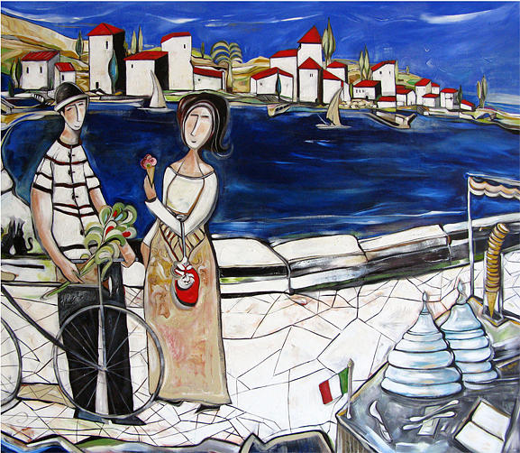 Italy Painting - Dear This Is For You by Michele Righetti