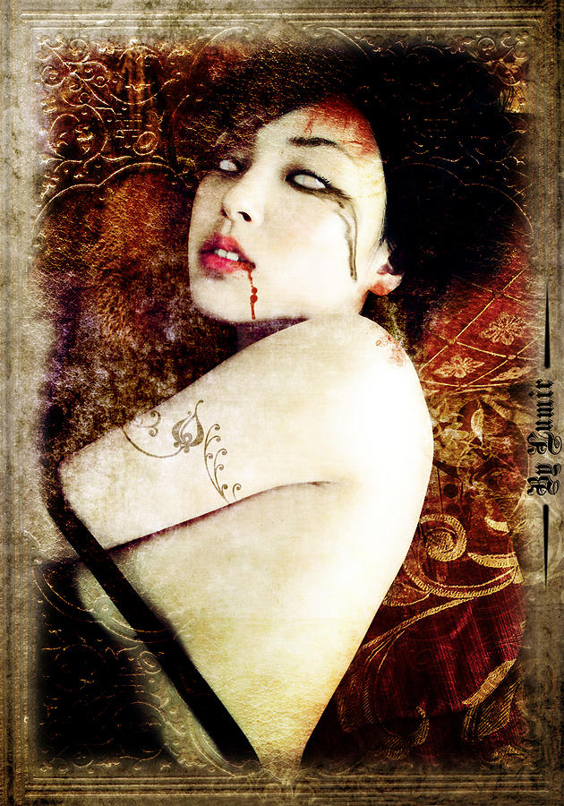 Photo Photograph - Death Beauty by Ivan Csorgo