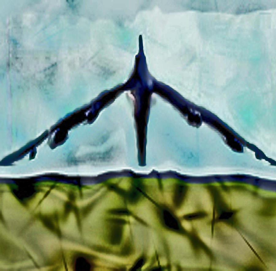 Death Digital Art - Death Bird by Jonathan Shaps