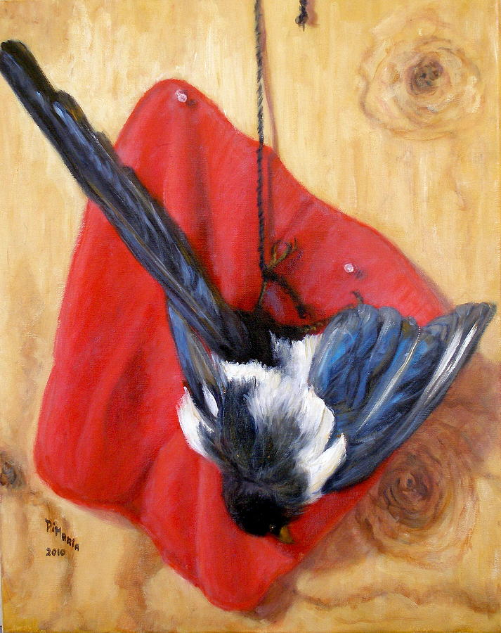 Realism Painting - Death Of Beauty by Donelli  DiMaria