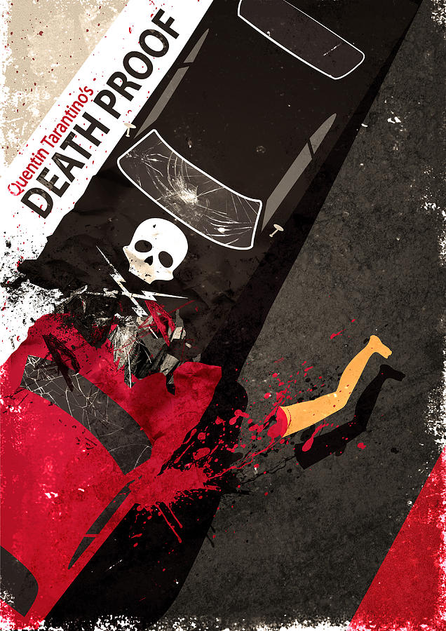 death proof quentin tarantino movie poster digital art by