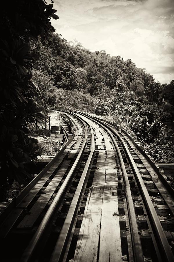 Railway Photograph - Death Railway by Lois Romer