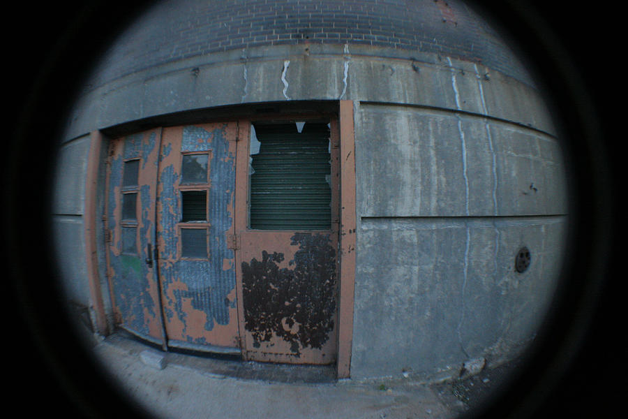 Death Star Photograph - Death Stars Back Door by Artist Orange