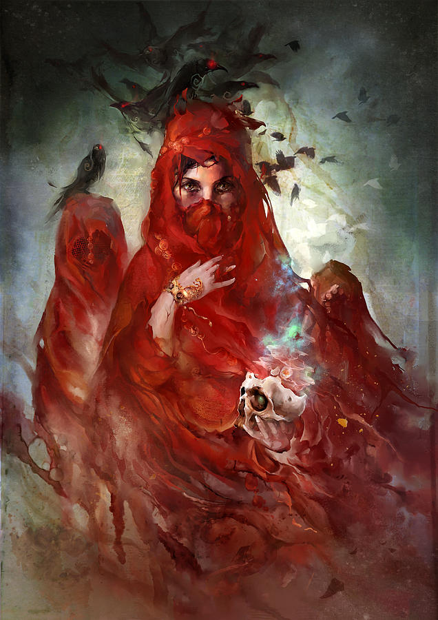 Crown Digital Art - Death by Te Hu