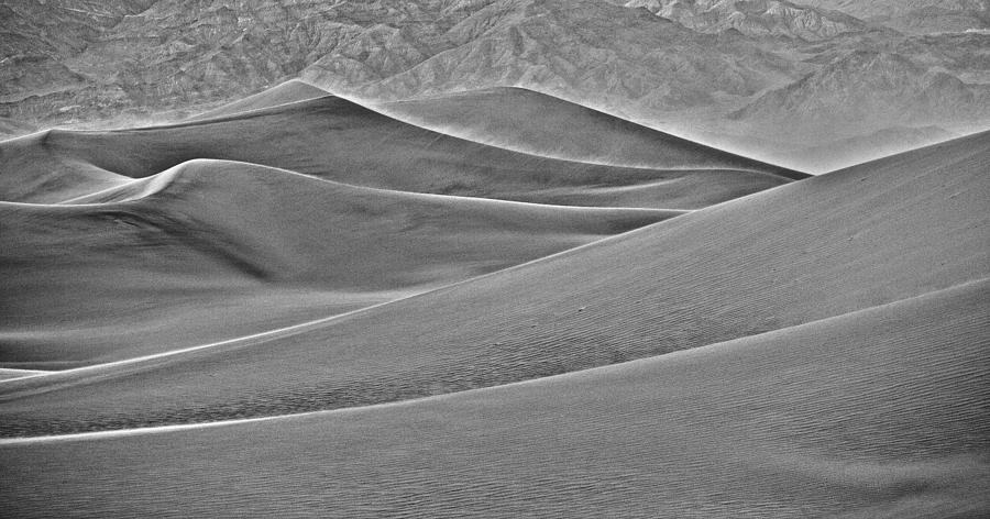 California Photograph - Death Valley Dunes by Whitman White