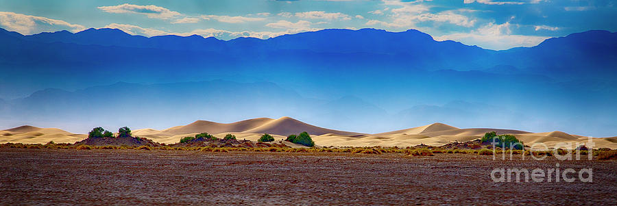Death Valley Dunes by Ron Sadlier