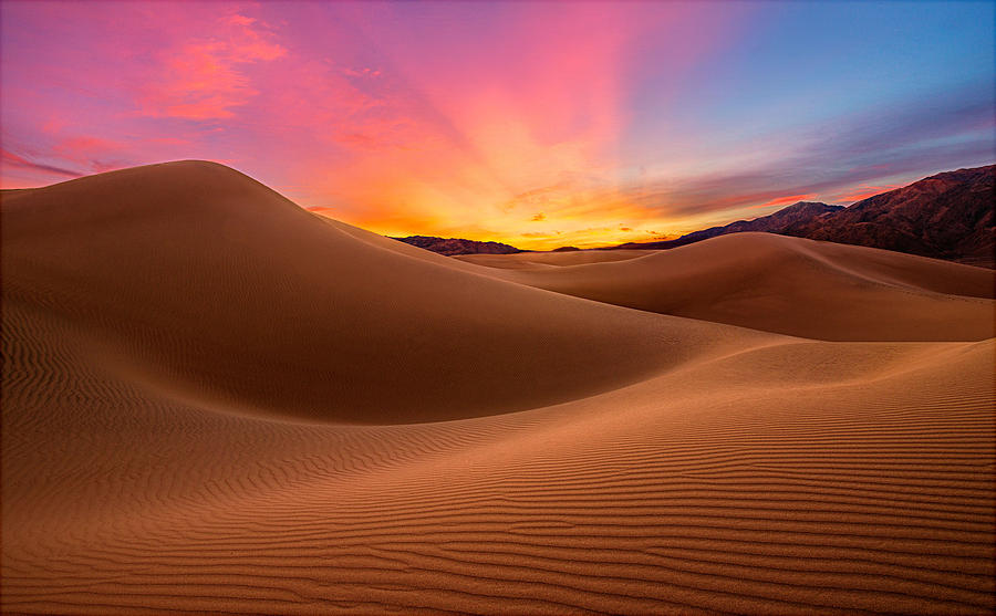 Death Valley Photograph - Death Valley by Lincoln Harrison