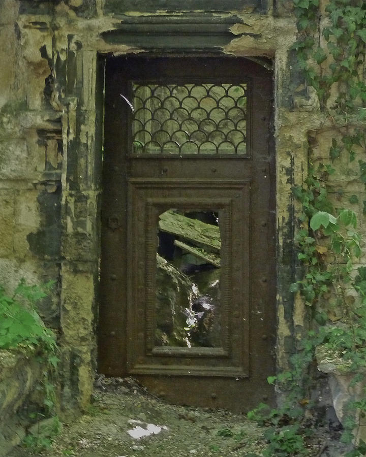 Door Photograph - Deaths Door by Ivan Tamas & Deathu0027s Door Photograph by Ivan Tamas