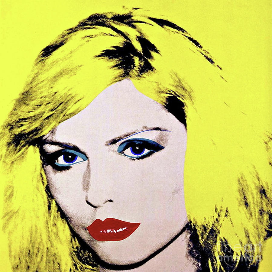 Debbie Harry, Andy Warhol Mixed Media by Andy Warhol