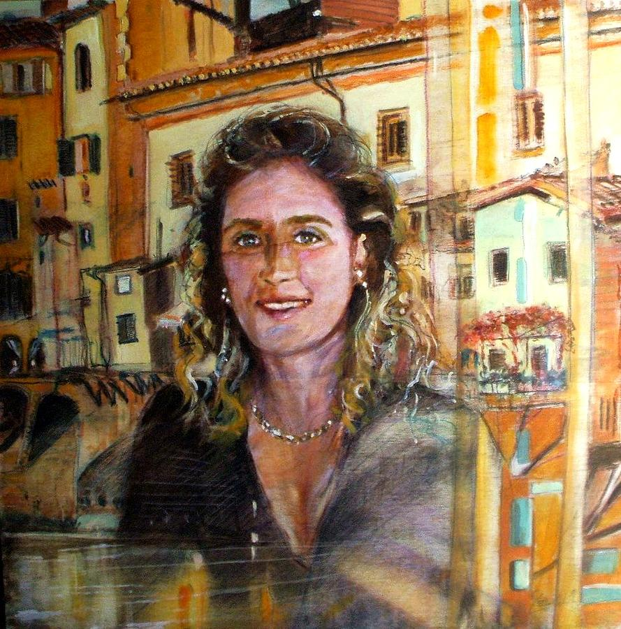 Debora Painting by Andrea Gelici